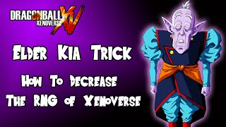 Dragon Ball Xenoverse How To Do The Elder Kia Trick