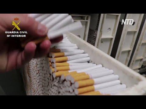 В Испании ликвидировали подземную табачную фабрику