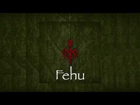 Wardruna - Fehu (Lyrics) - (HD Quality)