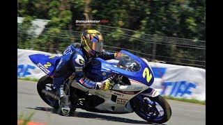 Pembalap 51 Tahun Juarai Race R25 Community Yamaha Cup Race Singkawang 2018