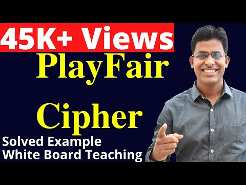 Playfair Cipher  Encryption and Decryption