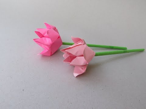 Lotus Paper Flower Craft Tutorial | How to & Origami | Cindy DIY