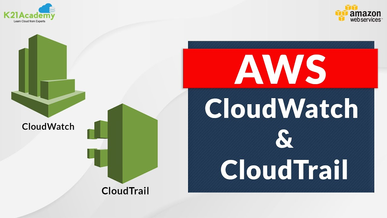 AWS Cloudwatch & Cloudtrail in 7 Minutes   AWS Tutorial for Beginners