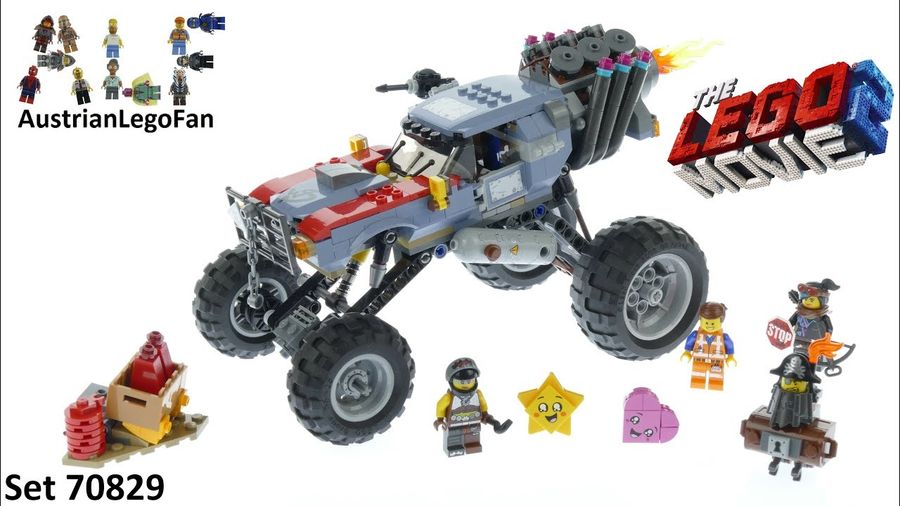 Lego Emmet Escape Buggy 70829 The Movie And Lucy's Jcul3TF1K5