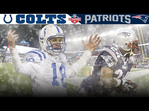 Ty Law & Co. Blanket Scorching Hot Indy Offense! (Colts vs. Patriots, 2003 AFC Championship)