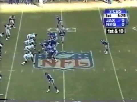 2000 - Kerry Collins Throws Pass to Wrong Man