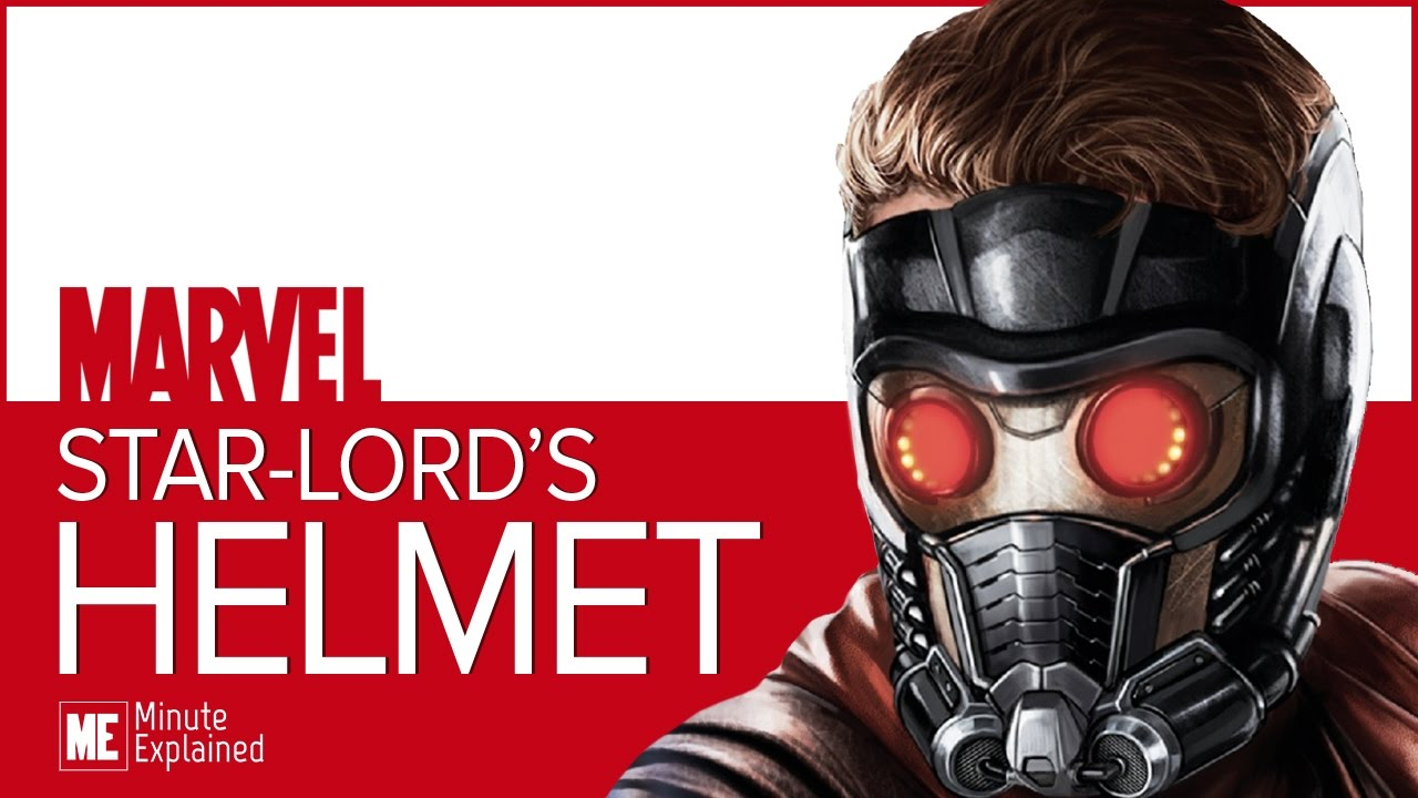 Star Lord S Helmet Explained Youtube