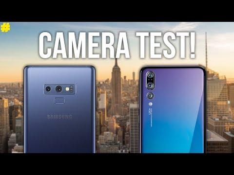 Samsung Galaxy Note 9 vs Huawei P20 Pro: Camera Comparison!