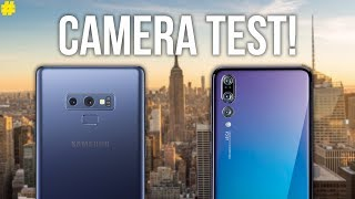 Samsung Galaxy Note 9 vs Huawei P20 Pro: Camera Comparison!