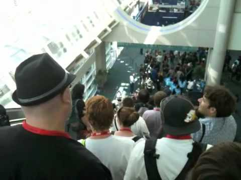 The American Physical Society goes to Comic-Con 2010