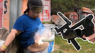 Airsoft Impact Grenade Launcher Test