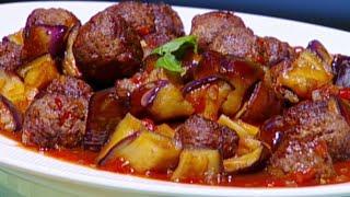 كرات اللحم الايطالية بالطريقة التايلندية - هانيا عنبتاوي