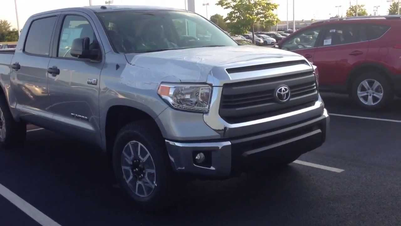 Great New 2014 Toyota Tundra SR5 TRD Offroad Package Walk Around