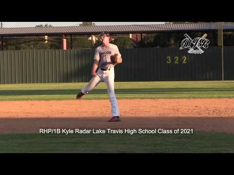 1B Kyle Rader Lake Travis High School Class of 2021