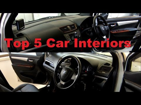 My Top 5 Car interior Jobs from 2017
