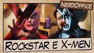 Visual de Rockstar e X-men | NerdOffice S04E43