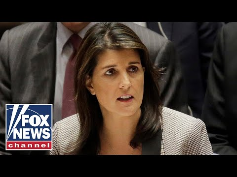 Nikki Haley attends final UN Security Council meeting