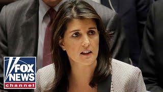 Nikki Haley attends final UN Security Council meeting