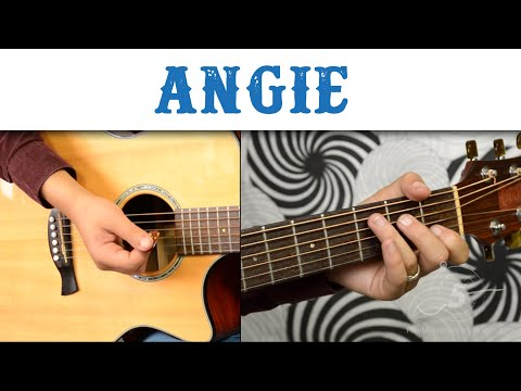 "How To Play ""Angie"" by The Rolling Stones - Easy Version, Chords and Strumming"