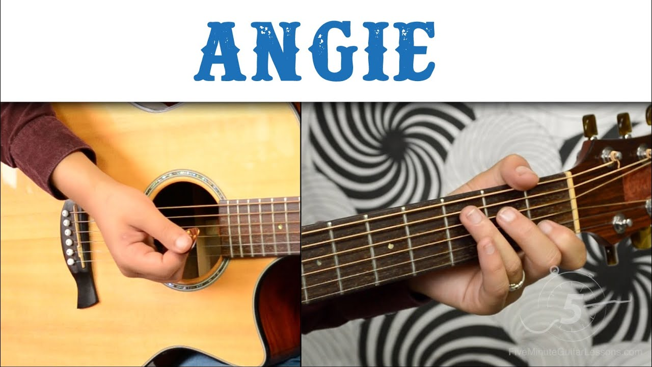 ANGIE BY THE ROLLING STONES – LEARN HOW TO PLAY