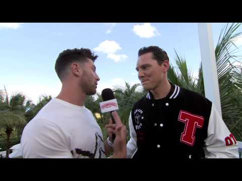 Casablanca at the SiriusXM Music Lounge - Tiësto Interview