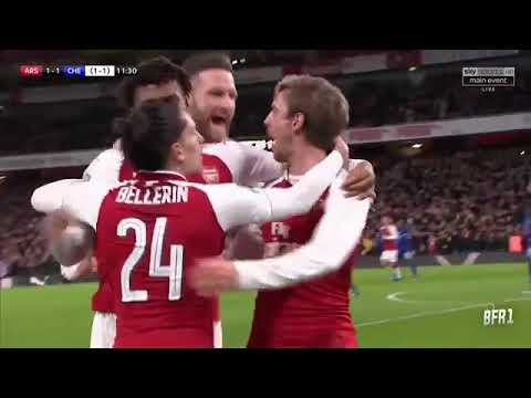 Download Arsenal 2-1 Chelsea  Highlights & All Goals — 24 01 2018  HD quality