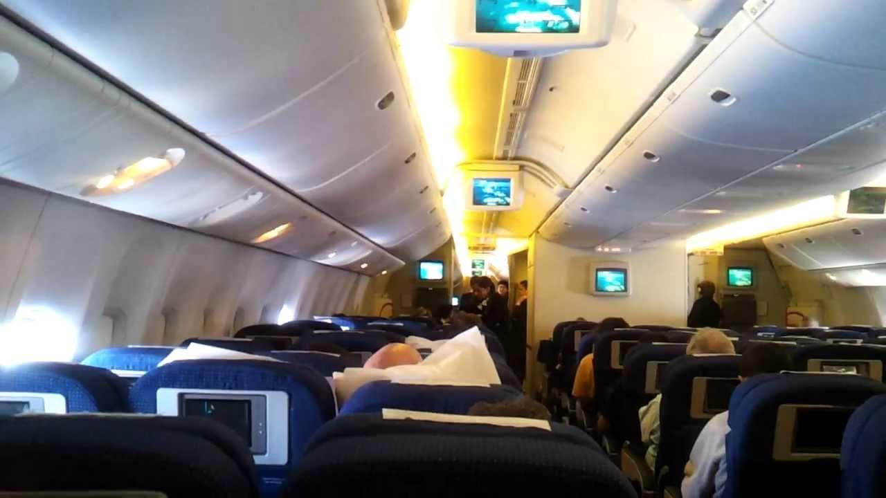 also el al boeing er saron flight from jfk to tlv youtube rh
