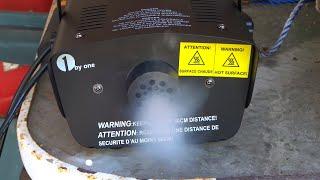 1ByOne Fog Machine 400 Watt Unboxing & Review