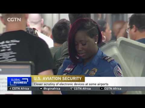 Closer scrutiny of electronic devices at some airports