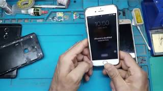 iphone is disabled connect to itunes how to unlock 6. 6s. 7. 7s. 8. 8+. x xs