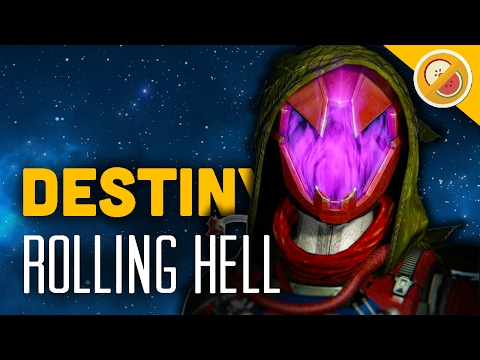 "Destiny ""Rolling Hell"" Custom Game - The Dream Team (Funny Moments)"