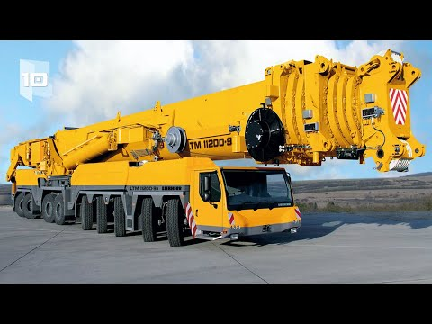 10 Most Amazing Mobile Cranes in the World