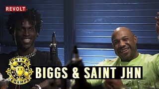 "Kareem ""Biggs"" Burke & SAINt JHN   Drink Champs (Full Episode)"