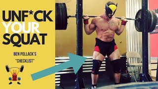 Ben Pollack Shares The Proper SQUAT Setup (AVOID MISTAKES) | Mind Pump