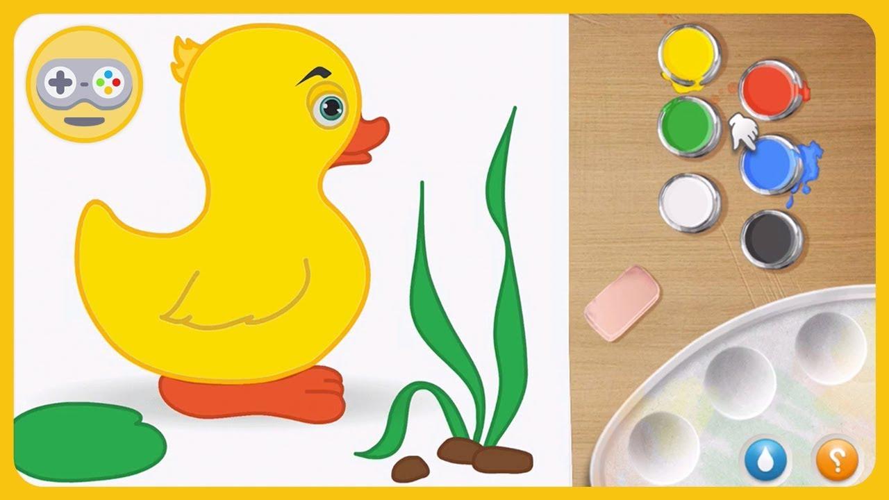 Живые раскраски для малышей - Оживляем картинки волшебными ...