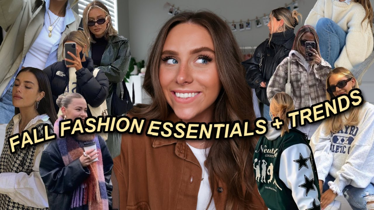 Download MY FALL CLOTHING ESSENTIALS + TRENDS | WHAT YOU *NEED* FOR FALL 2021 !!
