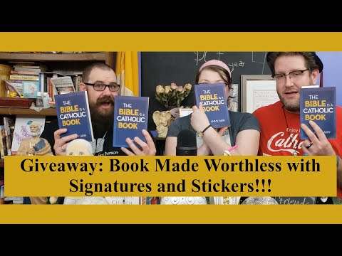 """Giveaway- """"The Bible is a Catholic Book"""" Giveaway"""