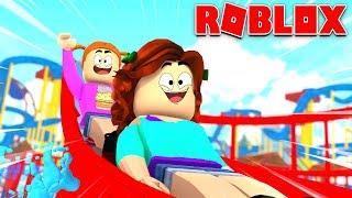 Roblox Roleplay - France Daisy va au parc aquatique avec sa meilleure amie!