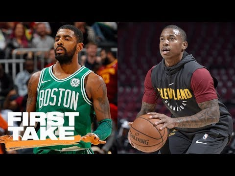 Stephen A. Smith: Cavs don't regret losing Kyrie Irving, Isaiah Thomas is answer   First Take   ESPN