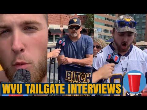 WVU Tailgate Interviews - MORGANTOWN IS INSANE