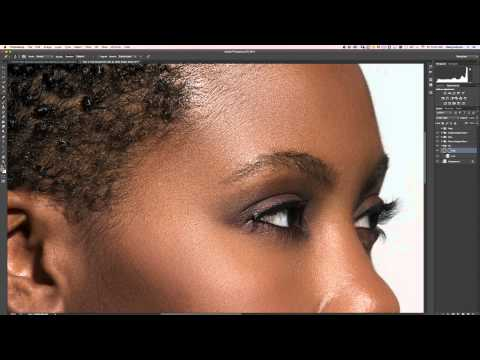 High End Beauty Retouch photoshop tutorial