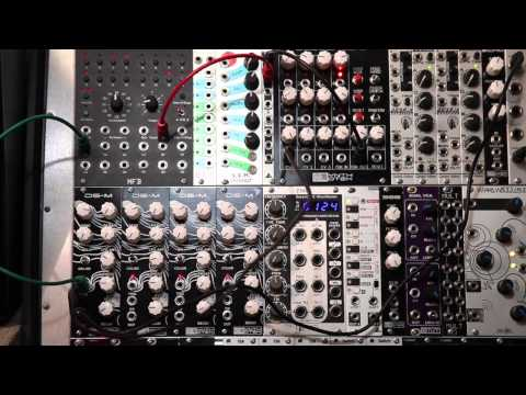 Synthrotek DS-M Eurorack Analog Drum Synth Module Complete Demo