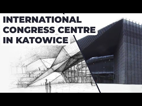 Drawing International Congress Centre in Katowice