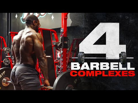 4 Barbell Complexes To Build Muscle & Burn Fat | Mike Rashid