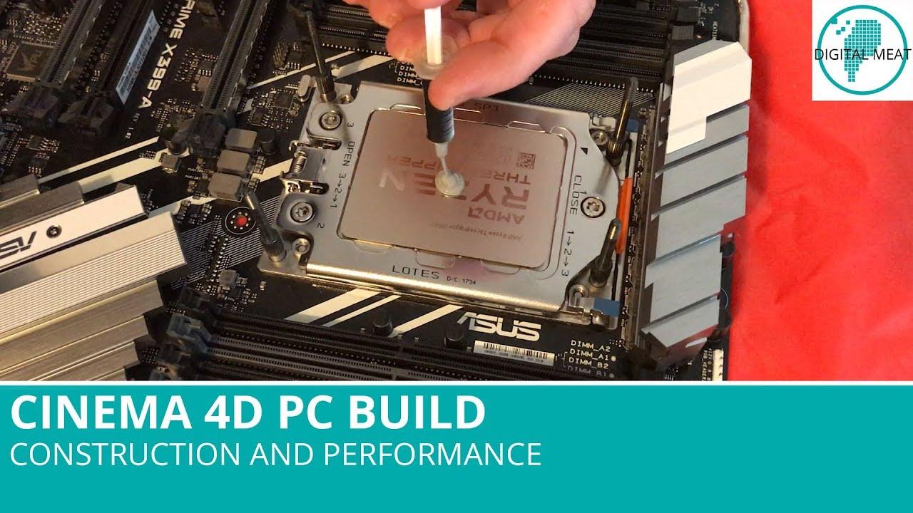 Best computer for C4D - INTRODUCTIONS - C4D Cafe