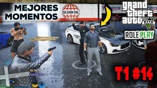 MEJORES MOMENTOS T1#14 GTA V ROLEPLAY   FARGAN