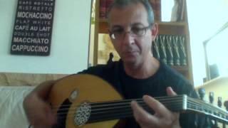 kapris Şerif Muhittin Targan played on oud by Bruno
