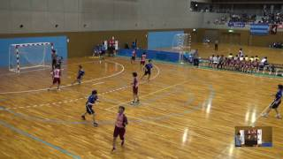 5日 ハンドボール女子 国体記念体育館 Dコート 湯沢×境 1回戦 1