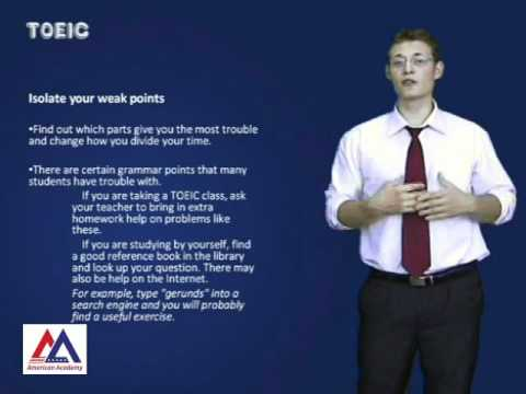 Học tiếng anh - TOEIC LEARNING TIPS (Cleverlearn - American Academy)