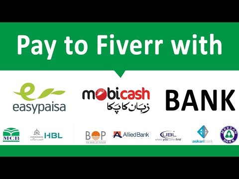 Fiverr Payment Method in Pakistan, without Paypal